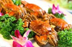 秋食螃蟹 记得配点藕