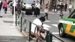 """日媒传""""中国人东京街头当众强奸妇女"""" 画面曝光"""